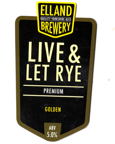Live and Let Rye